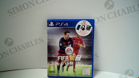 Lot 18015 FIFA 16 PLAYSTATION 4 GAME
