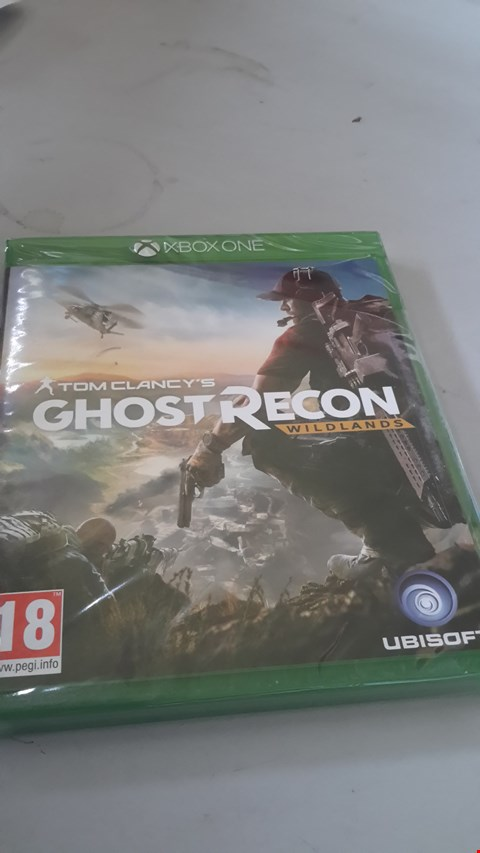 Lot 9003 GHOST RECON WILDLANDS FOR XBOX ONE