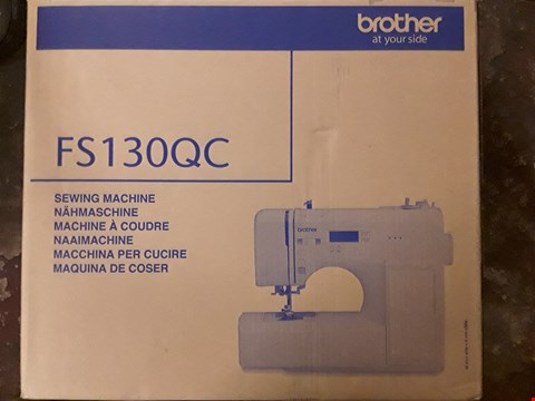 Lot 2708 BOXED BROTHER FS130QC SEWING MACHINE