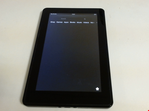 Lot 5159 amazon kindle d01400 android tablet