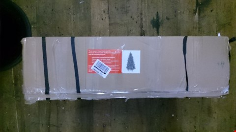 Lot 2414 6FT FROSTED TIPS XMAS TREE. RRP £100.00