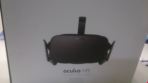 Lot 42 BOXED OCULUS RIFT VR HEADSET COMPATIBLE WITH XBOX ONE