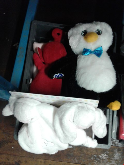 Lot 6032 BOX OF ASSORTED TEDDYS