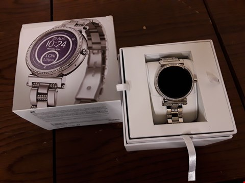 Lot 296 BOXED MICHAEL KORS ACCESS SOFIE WRIST WATCH