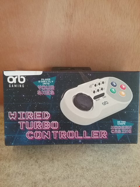 Lot 625 BRAND NEW BOXED SNES WIRED TURBO CONTROLLER