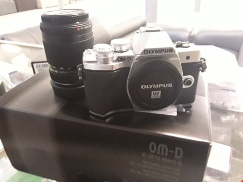 Lot 2 OLYMPUS OM-D E-M10 MARK III SILVER CAMERA RRP £999.00