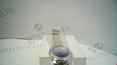 Lot 18079 DESIGNER METAL MESH STRAP WRISTWATCH