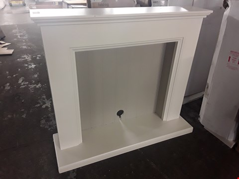 Lot 71 DESIGNER WHITE FIRE SURROUND
