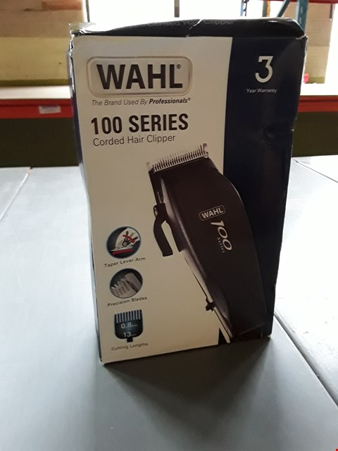 Lot 10341 WAHL 100 SERIES CORDED HAIR CLIPPER