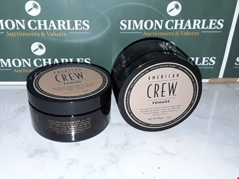 Lot 12073 LOT OF 2 AMERICAN CREW STYLE 85G POMADES