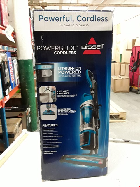 Lot 3004 BISSELL 1538A POWERGLIDE CORDLESS VACUUM CLEANER