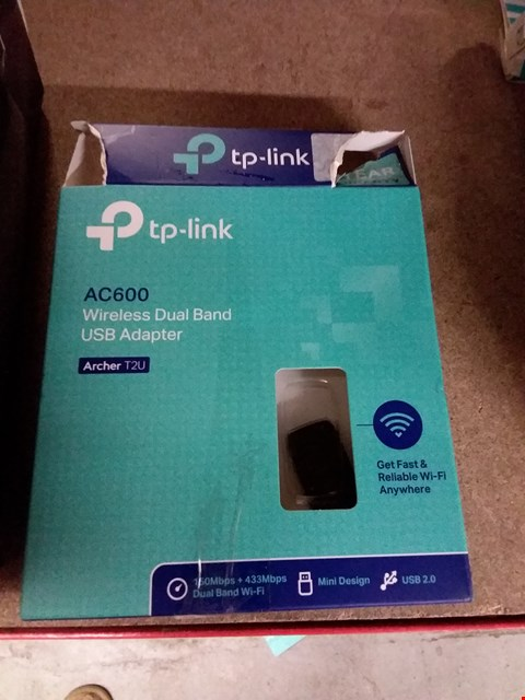 Lot 1266 LOT OF 2 TP LINK AC600 WIRELESS USB ADAPTORS