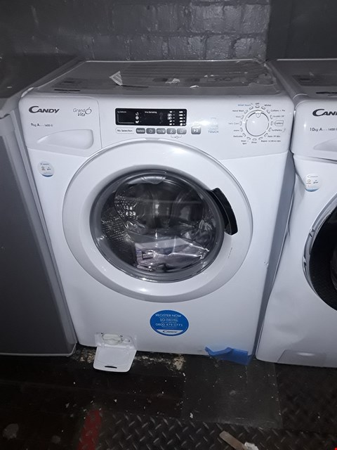 Lot 12137 CANDY GRAND'O VITA GVS169D3 9KG LOAD, 1300 SPIN WASHING MACHINE - WHITE RRP £399.99