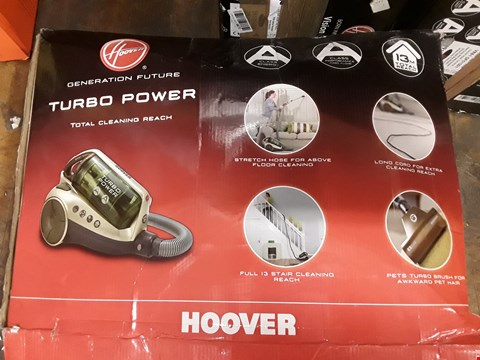 Lot 572 HOOVER TURBO POWER VACCUM CLEANER