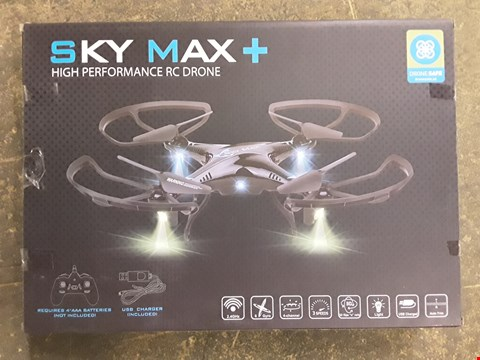 Lot 7260 BOXED SKY MAX+ HIGH PERFORMANCE DRONE