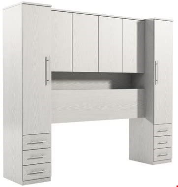 Lot 3559 BOXED PRAGUE OVERBED UNIT WHITE (4 BOXES) RRP £449.00