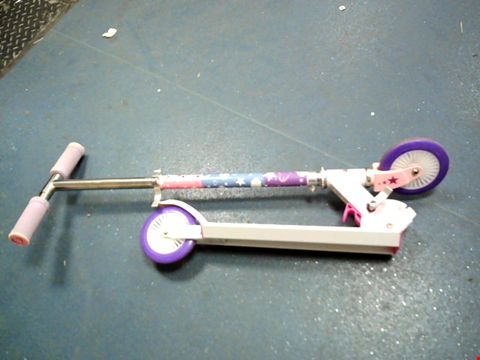 Lot 10347 UNICORN FOLDING IN LINE SCOOTER RRP £23.99