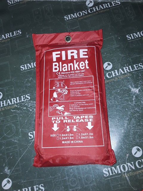 Lot 1329 FIRE BLANKET 1M X 1M