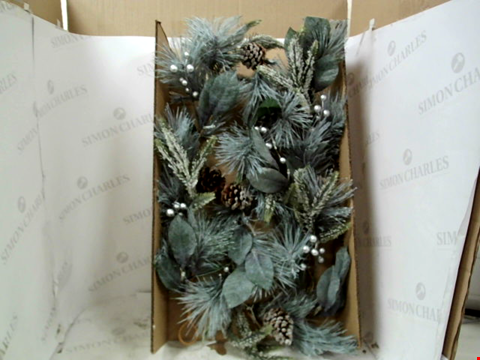 Lot 13136 BOXED LIT CONE GARLAND  RRP £32.99