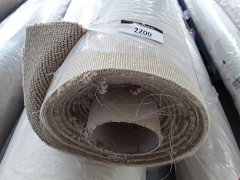 Lot 2200 ROLLED SAND SPINDLE TRIALS - SAND CARPET - MEASURES APPROXIMATELY 5 X 2M