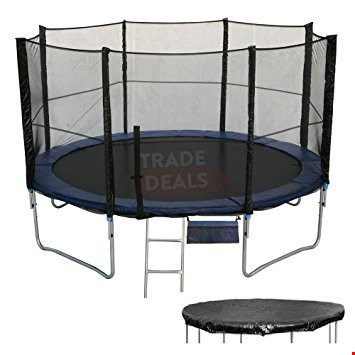 Lot 563 ACTIVE PLUS 10FT TRAMPOLINE (BOX 1 OF 2 ONLY)