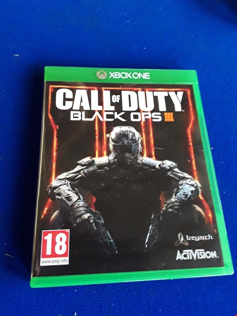 Lot 7660 CALL OF DUTY BLACK OPS III XBOX ONE GAME