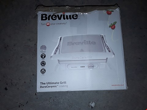 Lot 195 BREVILLE DURA CERAMIC - THE ULTIMATE GRILL