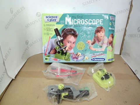 Lot 10497 CLEMENTONI MY FIRST MICROSCOPE RRP £15.99