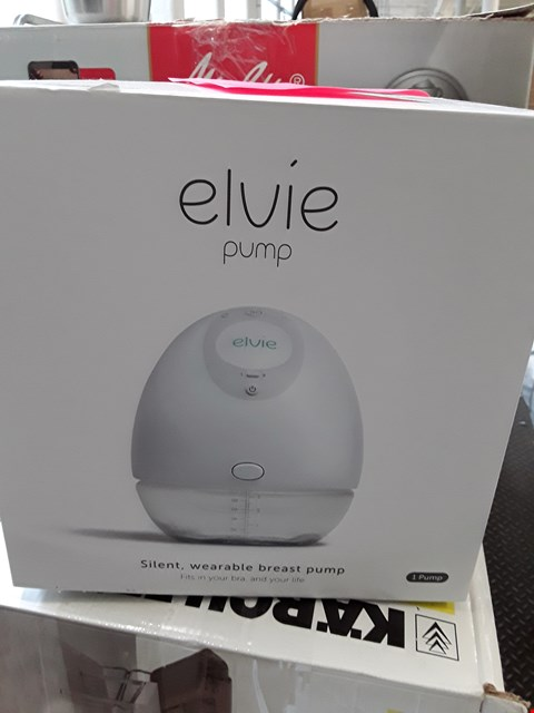 Lot 7135 BOXED ELVIE WEARABLE BREAST PUMP