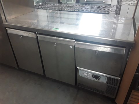 Lot 90 THREE DOOR REFRIGERATION UNIT