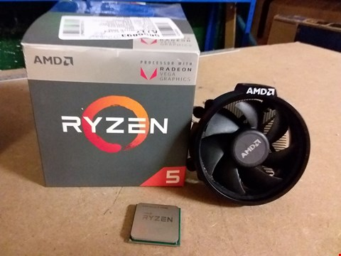 Lot 1008 AMD RYZEN 5 2400G PROCESSOR
