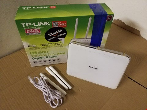 Lot 8048 TP-LINK AC1900 WIRELESS DUAL BAND GIGABIT