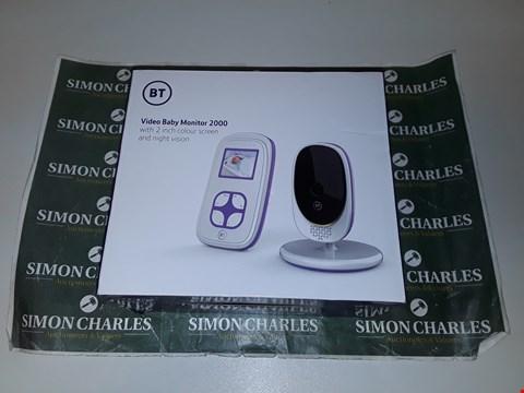 Lot 2024 BT VIDEO BABY MONITOR 2000 RRP £75.00