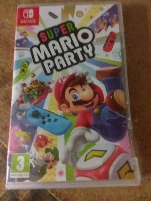 Lot 2391 SUPER MARIO PARTY FOR NINTENDO SWITCH