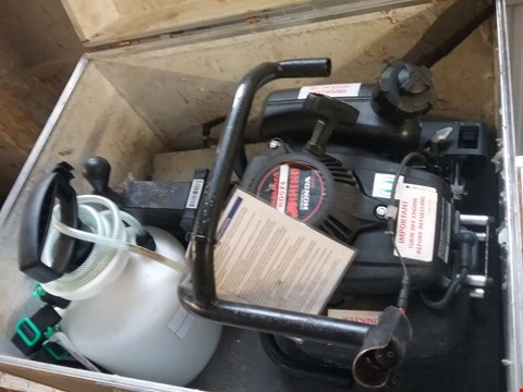 Lot 1061 HONDA RD074 RHINO ROTABROACH RAIL DRILLING MACHINE WITH STORAGE BOX