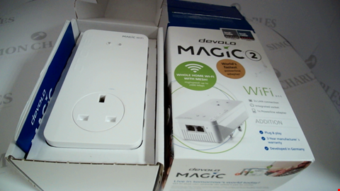 Lot 17038 DEVOLO MAGIC 2 WI-FI: ULTIMATE ADD-ON POWERLINE ADAPTER AND MESH WI-FI, UP TO 2400 MBPS VIA POWERLINE