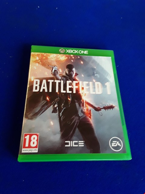 Lot 7645 BATTLEFIELD 1 XBOX ONE GAME