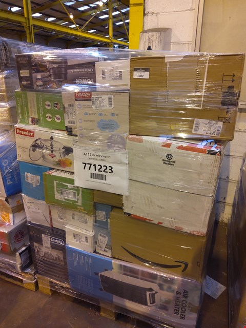 Lot 1002 PALLET OF APPROXIMATELY 52 ASSORTED ITEMS TO INCLUDE: