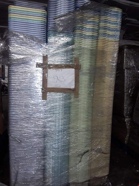 Lot 3146 PALLET OF APPROXIMATELY 1040 ASSORTED PLASTIC BOXES