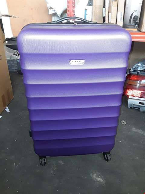 Lot 2537 LARGE FLYMAX SUITCASE PURPLE