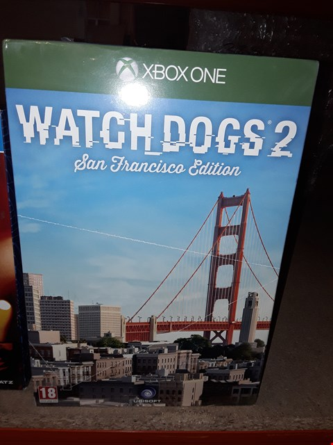 Lot 86 BRAND NEW BOXED XBOX WATCH DOGS 2 SAN FRANCISCO EDITION