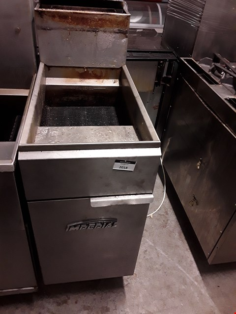 Lot 2018 IMPERIAL STAINLESS STEEL SINGLE TAX DEEP FAT FRYER