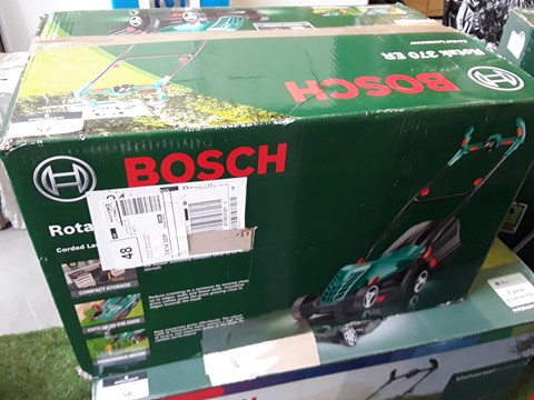 Lot 57 BOXED BOSCH ROTAK 370 ER CORDED LAWNMOWER  RRP £97.00