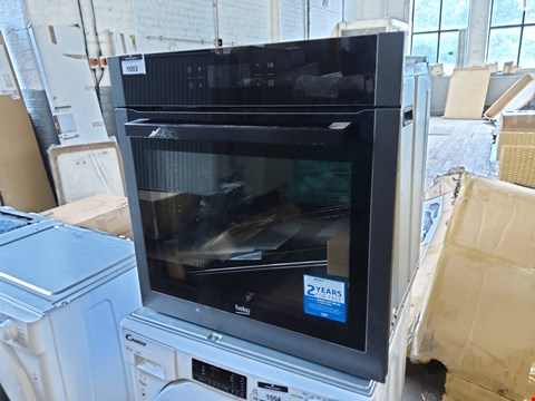 Lot 1003 BEKO INTEGRATED SINGLE OVEN