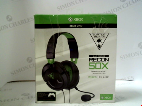 Lot 3121 TURTLE BEACH EAR FORCE RECON 50X WIRED GAMING HEADSET FOR XBOX ONE
