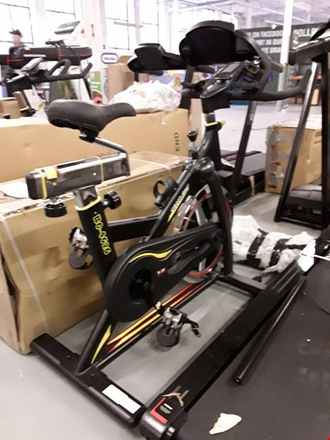 Lot 71 BODY SCULPTURE PRO RACING STUDIO BIKE  RRP £349.99