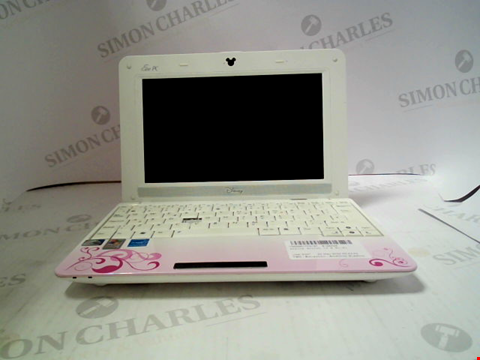 Lot 698 ASUS EEE PC MK90H DISNEY THEMED LAPTOP