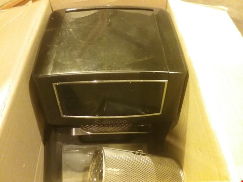 Lot 2648 CALMDO AIR FRYER, 12 LITERS TOWER LOW FAT OVEN