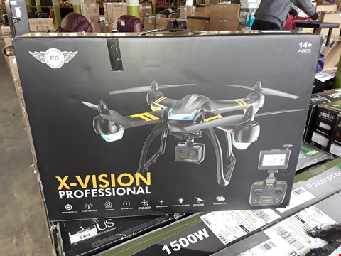 Lot 7011 X-VISION PROFESSIONAL DRONE WITH HD CAMERA