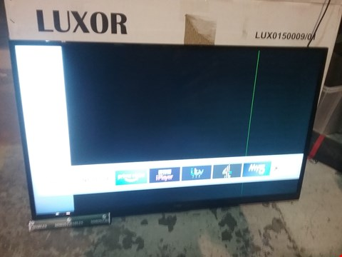 "Lot 61 BOXED LUXOR 50"" 4K ULTRA HD FREEVIEW TV"